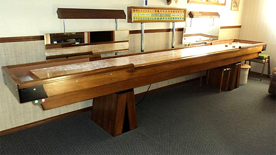 National Shuffleboard Table